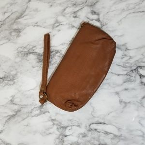 Bags - Small faux leather clutch wristlet